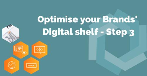 Optimize digital shelf step 3