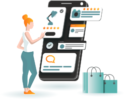 Track eCommerce customer reviews