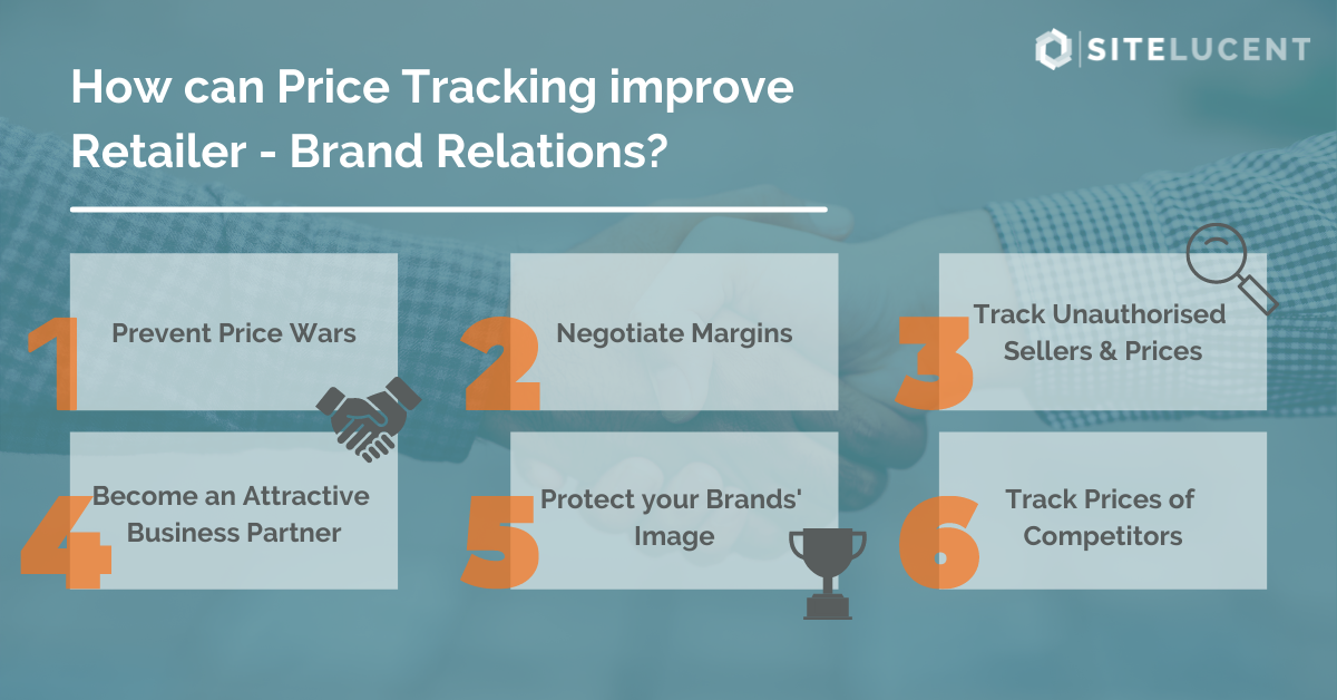 How can Price Tracking improve Retailer - Brand Relations