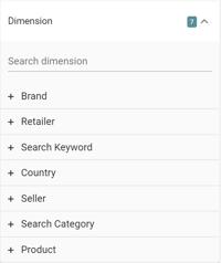 dimension line chart sitelucent