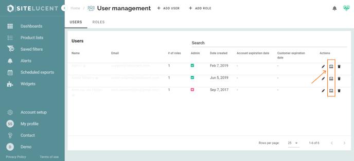 assign user roles sitelucent