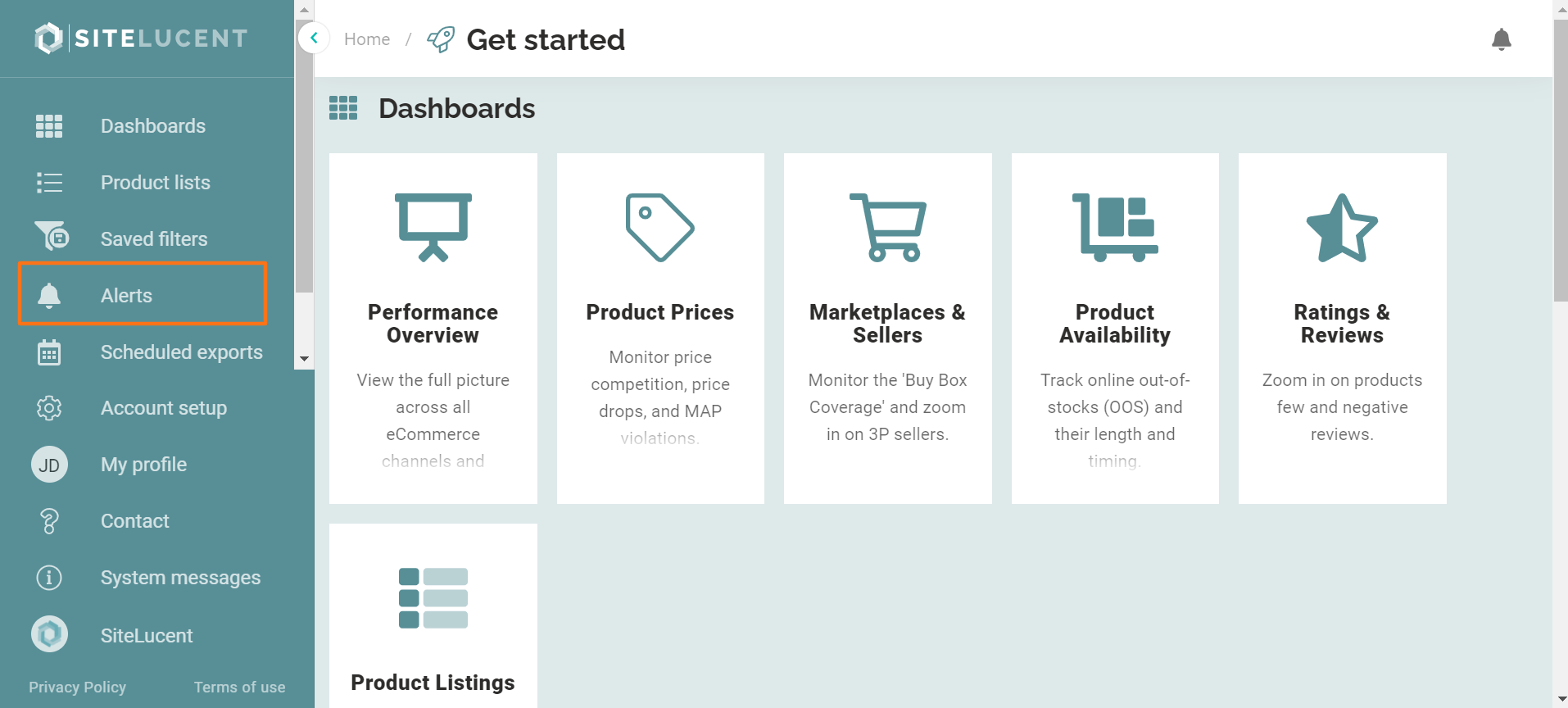 ecommerce monitoring software alerts