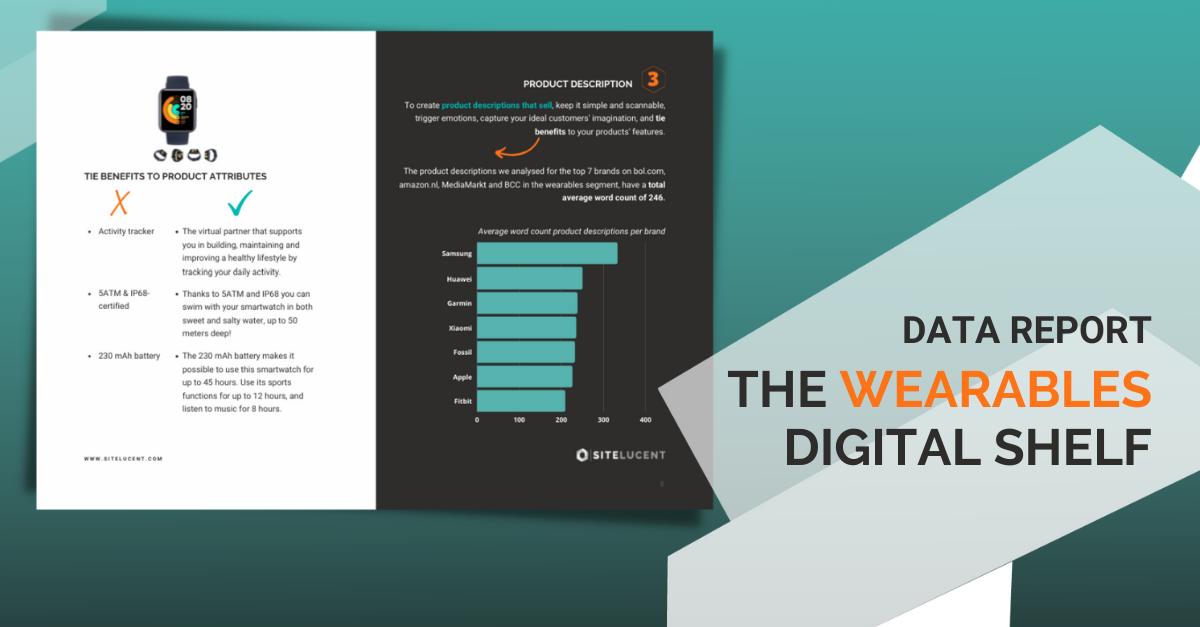 The wearables Digital Shelf